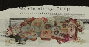 PNG#32 Vintage Things by miaoaoaoao