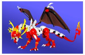Royal Crested Dragon by SEDVR