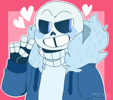 blue skelly by skeleshibe