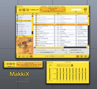 MakkiX for iTunes Win by rainbow2000