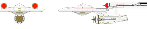 USS Dumfries V3 front view wip by Robbie18