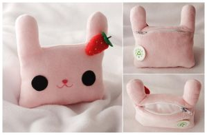 bunny pouch for hikoro by onifrogbox