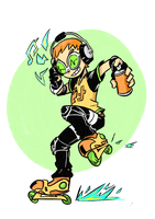 Beat - Jet Set Radio by pkluccas
