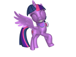 Musical Alicorn Twilight Sparkle by DashieMLPFiM