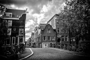 Streets of Amsterdam by Flyy1