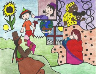 Cultures Around the World by graciegralike