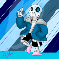 Sans by MyDoggyCatMadi