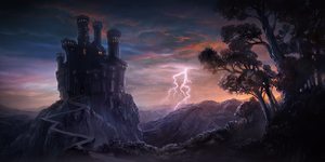 The Castle of Storm by Vihola