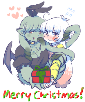 YhrrGoth And Gomenne Christmas 2016 by the-chinad011-house