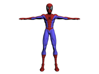 Ultimate Spider-Man Obj by LaxXter