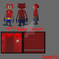 Tti-shirt by toontownloony