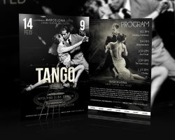 Tango Night-Flyer Template by sluapdesign
