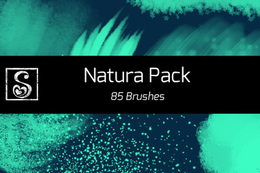 Shrineheart's Natura Pack - 85 Brushes by Shrineheart