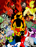 Cartoon Network Villains Tribute by cowheaddanny