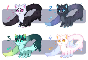 [CLOSED] Adopts batch - Noodle Octocats by KetLike