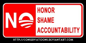 No: Honor Shame Accountability by RedTusker
