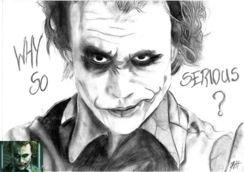 Heath Ledger by Mizz-Depp