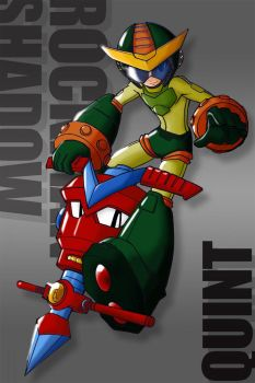 Another megaman by afantar