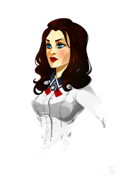 Elizabeth from Burial At Sea by Clovernight