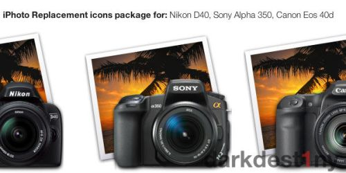 iPhoto replacement icons by darkdest1ny