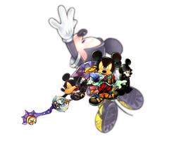 Kingdom Hearts: King Mickey Appearances by Legend-tony980