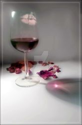 Wine and roses by mary-dot-com