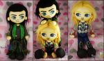 We are burdened with glorious cuteness.. by threadlingzz