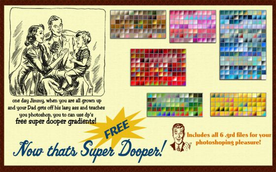 Super Dooper Gradient Pack by DigitalPhenom