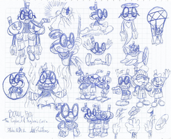 Bowlboy Sketches by AVM-Cartoons