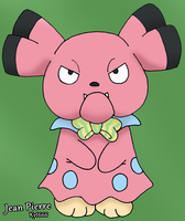 Jean Pierre The Snubbull by Kyt666