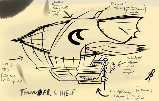 Airship Concept by DJP15