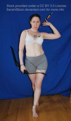 Pose Reference Archer Walking Pulling Arrow Bow by SenshiStock