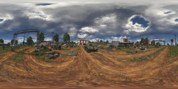 War Thunder Garage 360 (HDR) by LuisMilla
