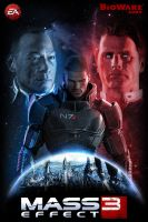 Mass Effect 3 Poster by AlexNya91