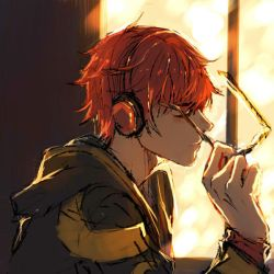 Safe and sound [WIP - 707 Mystic Messenger] by buffalodog