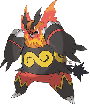 Emboar v.2 by Xous54