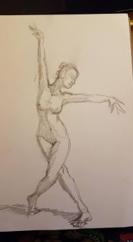 Dancing Nude by agpierce