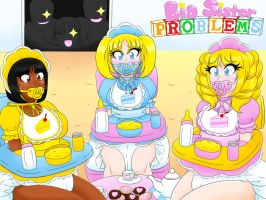 Big Sister Problems Ch2 , Babys First Tea Party by Kobi-Tfs