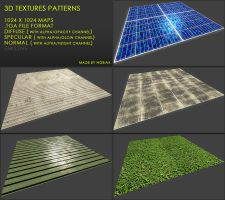 Free textures pack 32 by Yughues