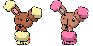 Pokemon #427 - Buneary by Fyreglyphs