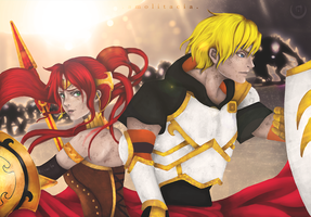 Arkos - I'll Stand By You by Amolitacia