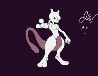 MewTwo by jakeizbored523
