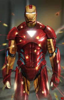 Invincible IronMan by SharpWriter
