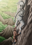 The climb | Commission by JankaLo