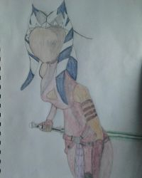 Ahsoka Sketch3 by Ahsoka-Tano757