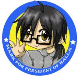 Mark For President of Halla by shido-burrito