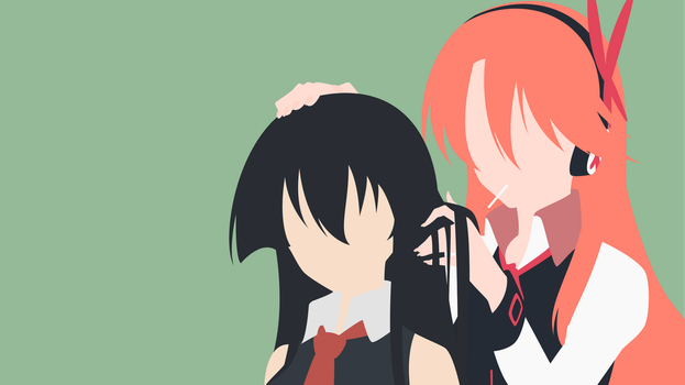 Akame and Chelsea by jakjak24