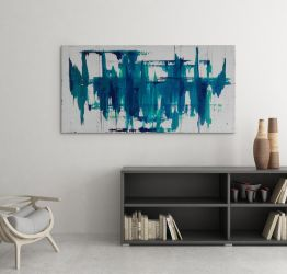 Revenant - Original Abstract Acrylic Painting by Acrolyth