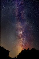 The Milkyway, Astrophotography by Sittinger