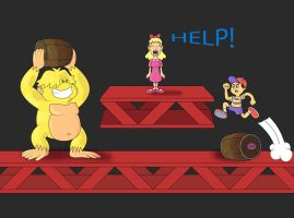 Pokey Kong by diego-toon-master